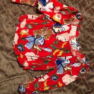 Candies 3/4 sleeve half shirt